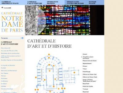 Visite virtuelle à la Cathédrale de Notre Dame de Paris